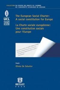 La Charte sociale européenne : une constitution sociale pour l'Europe : Edition bilingue français- anglais