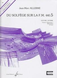 Du Solfege Sur la F.M. 440.5 - Lecture/Rythme - Eleve