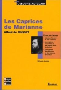 Les caprices de Marianne - Etude de l'oeuvre