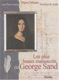 Les plus beaux manuscrits de George Sand