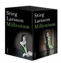 Estoig  tres volums de Stieg Larsson: inclou última correspondència entre Stiel Larsson i la seva editora