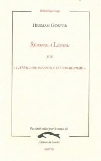 Réponse à Lénine sur