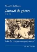 Journal de guerre : 1940-1941
