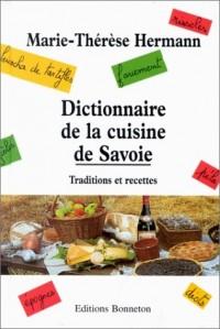 Dictionnaire de la cuisine de Savoie