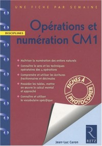 Opérations et numération CM1