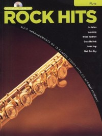 Rock Hits Instrumental Playalong: Flute. Partitions, CD pour Flûte Traversière