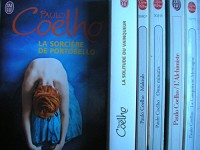 lot 6 livres paulo coelho : la sorciere de portobello - la solitude du vainqueur - maktub - onze minutes - l'alchimiste - la cinquieme montagne