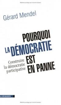 Pourquoi la démocratie est-elle en panne ? Essai sur la démocratie participative