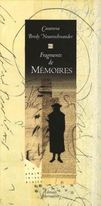 Fragments de Mémoires : Extraits de Histoire de ma vie