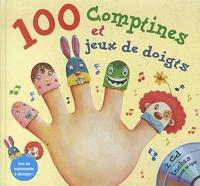 100 Comptines et jeux de doigts (2CD audio)