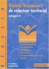 Réussir le concours de rédacteur territorial : Catégorie B