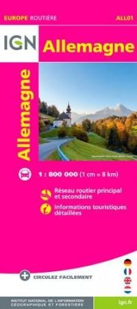 Allemagne : 1/800000