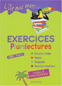Plurilectures CM1 exercices : Fiches à photocopier