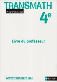 Transmath 4e : Livre du professeur