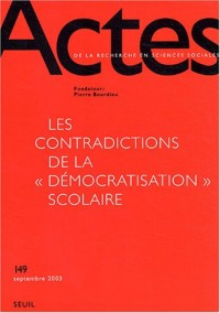 Actes de la recherche en sciences sociales, numéro 149