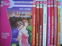 lot 9 livres collection duo : dans les bras d'apollon - ange ou démon - dans la magie de la nuit - l'envers du mensonge - etranges amoureux - sur le bleu de l'océan - le coeur battant - frissons a l'a