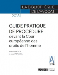 Guide pratique de procédure devant la Cour Europeenne des Droits de l'Homme