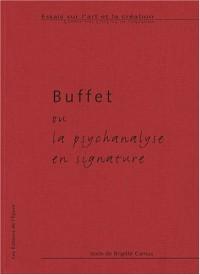 Buffet ou la psychanalyse en signature