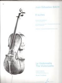 Six Suites pour Violoncelles - Suites 4.5.6. - Volume 2