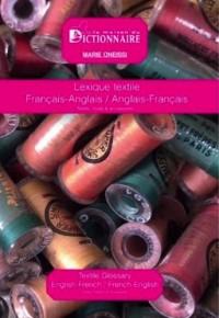 Lexique textile Français Anglais / Anglais Français - Textile - Mode - Accessoires