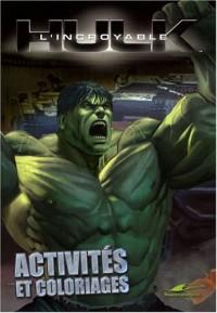 L'incroyable Hulk : Activités et coloriages