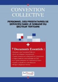 3301. Personnel des prestataires de services dans le domaine du secteur tertiaire Convention collective