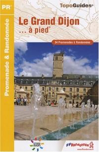 Le Grand Dijon à pied : 34 Promenades et randonnées