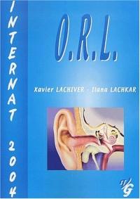 ORL : Internat 2004