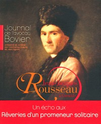 Journal de Jean-Jacques Rousseau a Grenoble