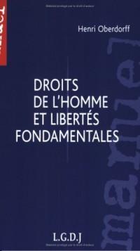 Droits de l'homme et libertés fondamentales