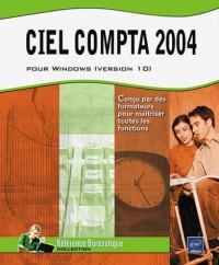 Ciel Compta 2004 pour Windows (version 10) - agréé Ciel