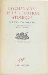 Psychanalyse de la situation atomique