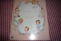 l album de bebe illustre par yvonne perrin , ses premieres annees ses progres ses photographies et autre faits importants editions lito paris