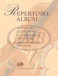 Repertoire album for Violoncello and Piano