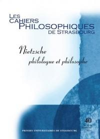 Nietzsche : Philosophie et philologue