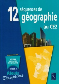 PACK 6 CAHIERS GEOGRAPHIE CE2 Livre scolaire