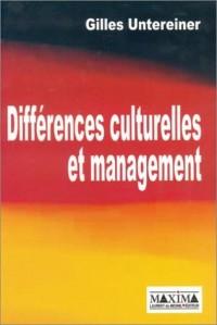Différences culturelles et management, avec des comparaisons entre les entreprises allemandes et françaises