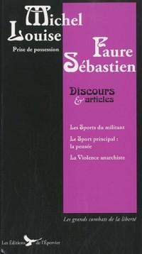Louise Michel Sébastien Faure Discours Articles Ecrits Politiques Louise Michel et Sebastien Faure