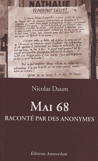 Mai 68 raconté par des anonymes