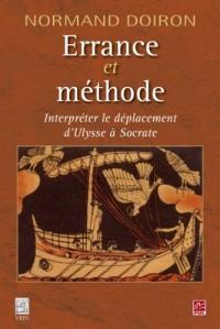 Errance et méthode. Interpréter le déplacement d'Ulysse à Socrate