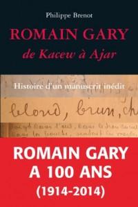 Romain Gary, de Kacew à Ajar