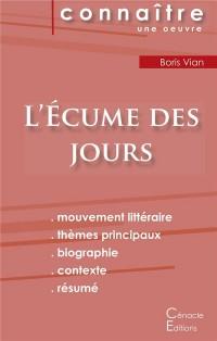 Fiche de lecture L'Ecume des jours (Analyse littéraire de référence et résumé complet)
