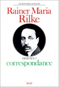 Oeuvres, tome 3 : Correspondance