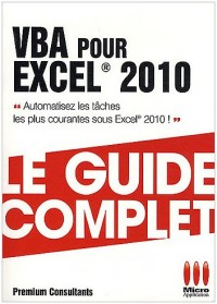 VBA pour excel 2010