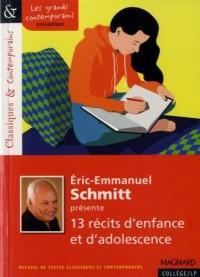 Eric-Emmanuel Schmitt présente 13 récits d'enfance et d'adolescence