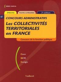 Les collectivités territoriales en France : Toutes catégories