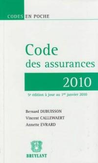 Code des assurances 2010