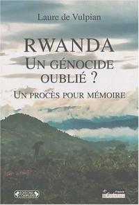 Rwanda : un génocide oublié ? : Un procès pour mémoire