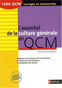 L'essentiel de la culture générale en QCM
