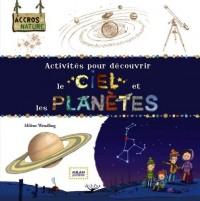 Activités pour découvrir le ciel et les planetes